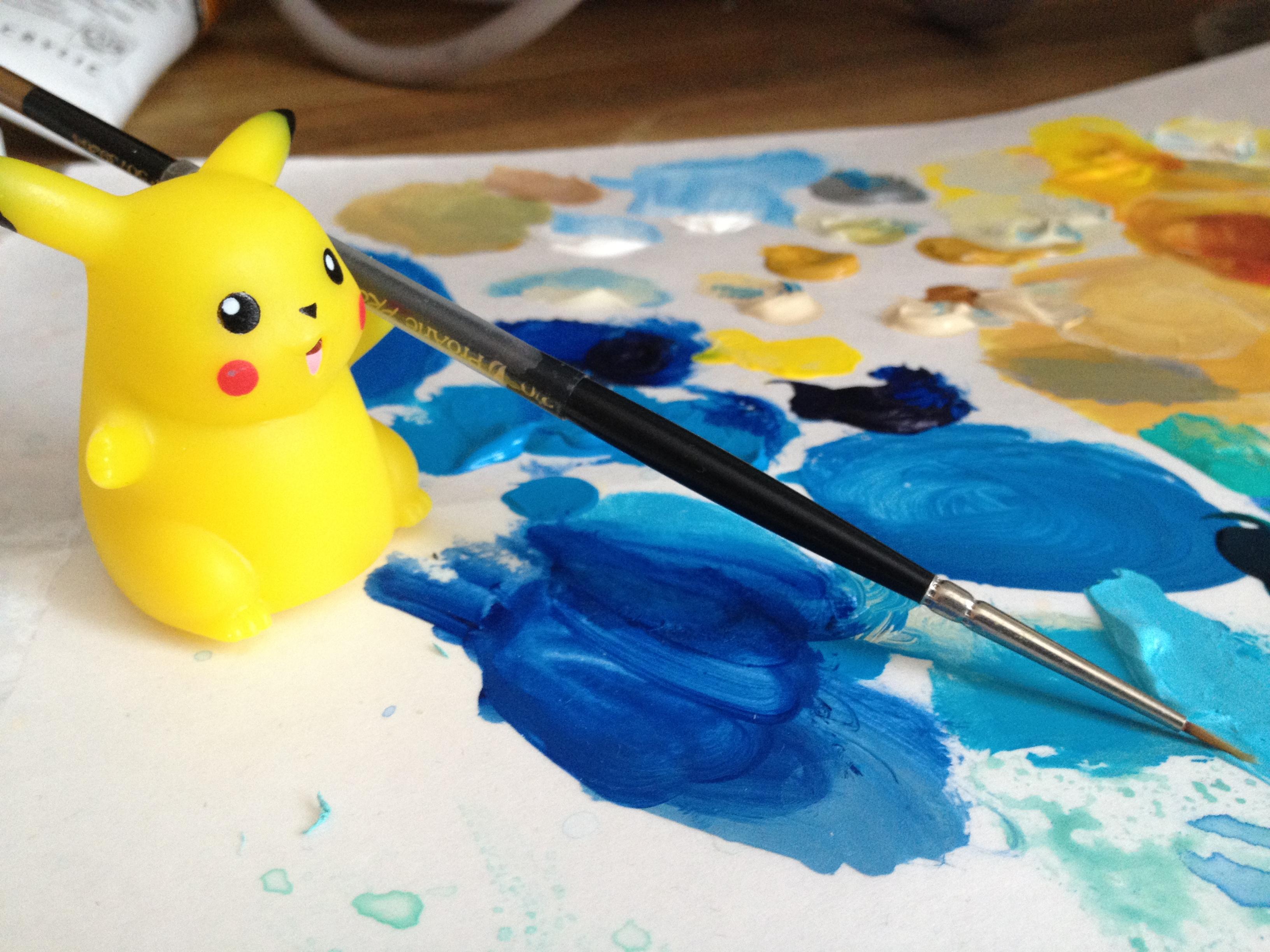 Pikachoo helps June Sees