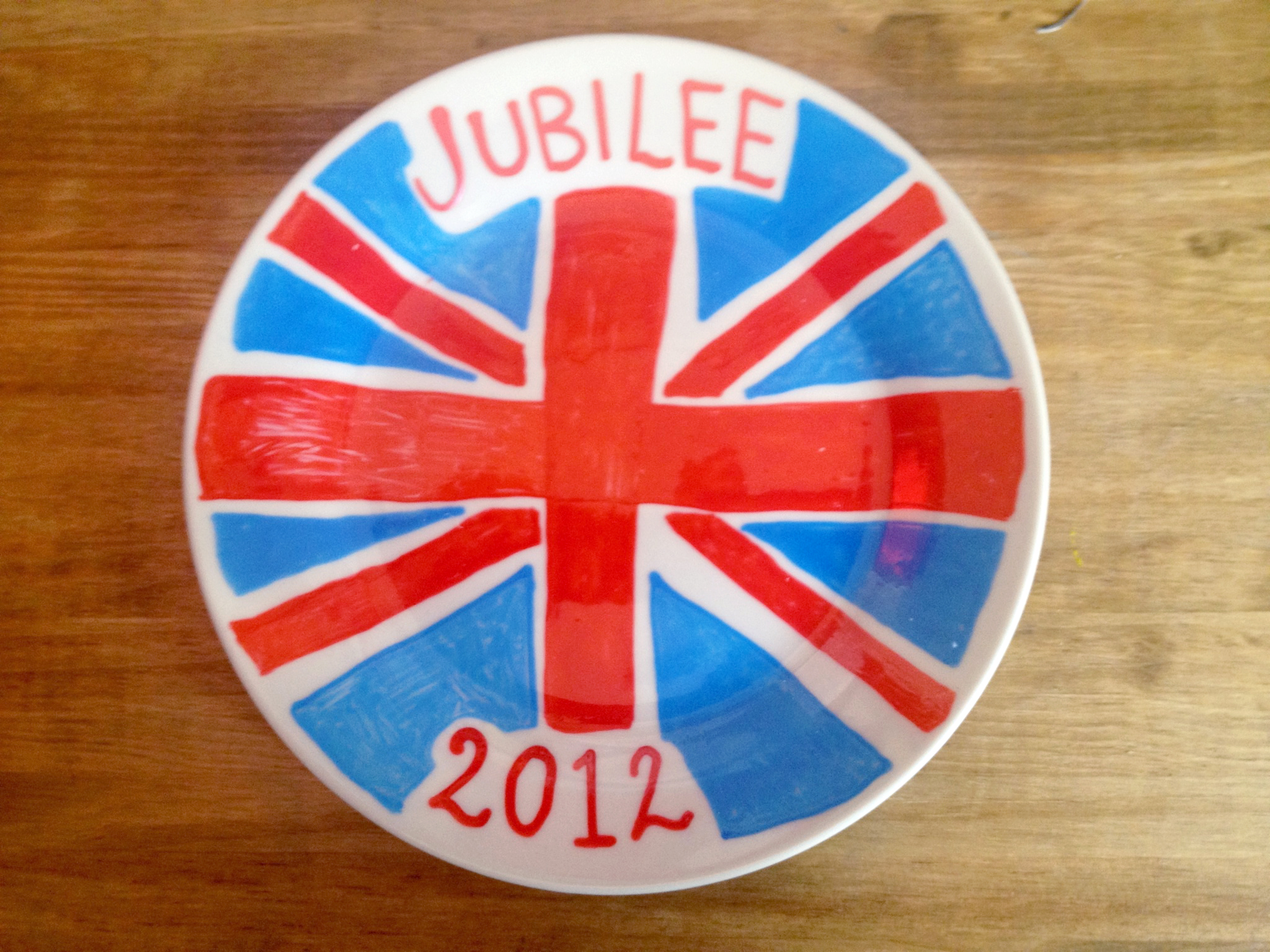 June Sees: Jubilee Plate Design