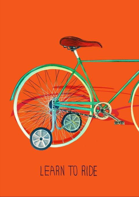 New Year resolution bike