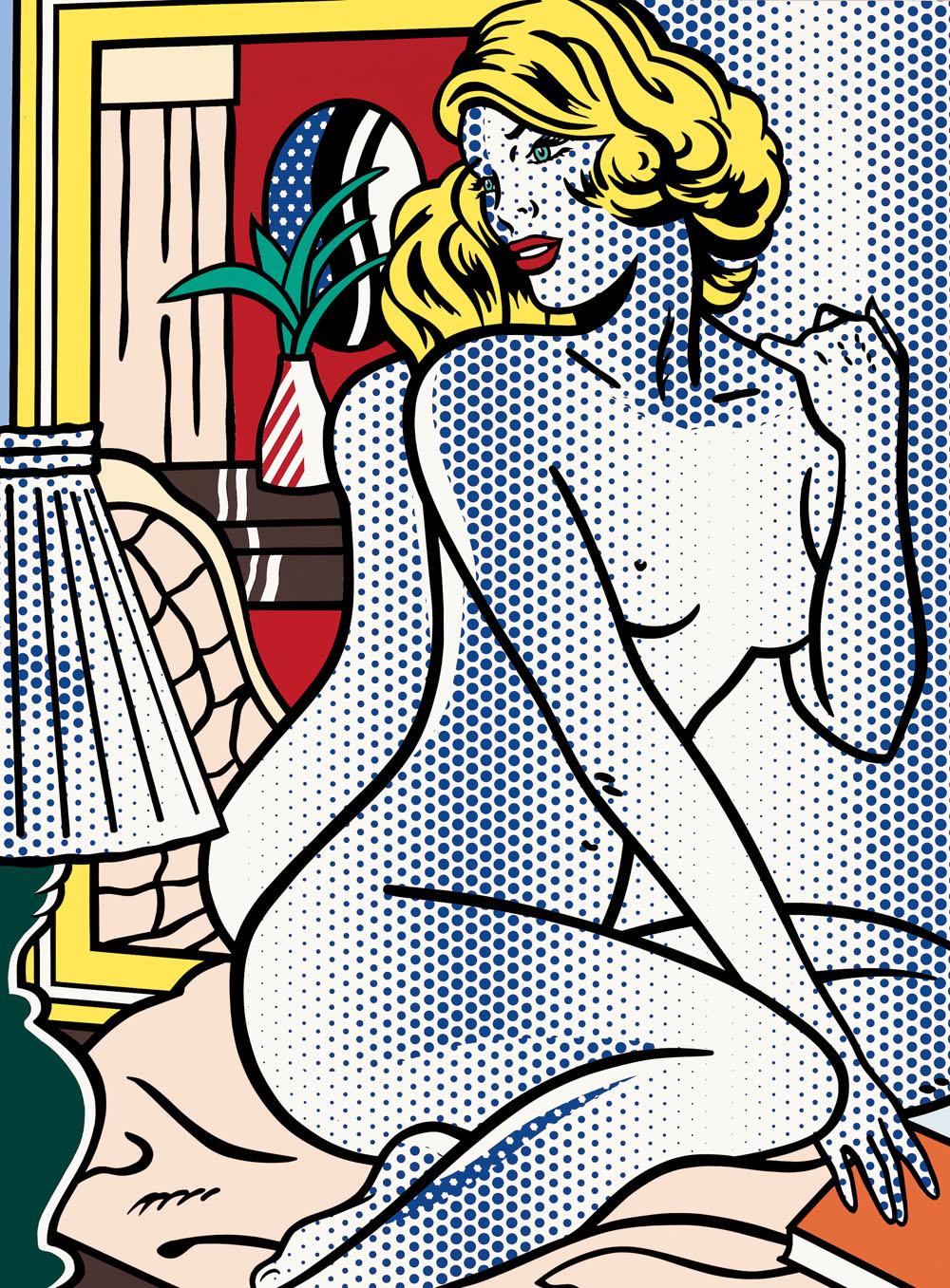 Lichtenstein_BlueNude_1995