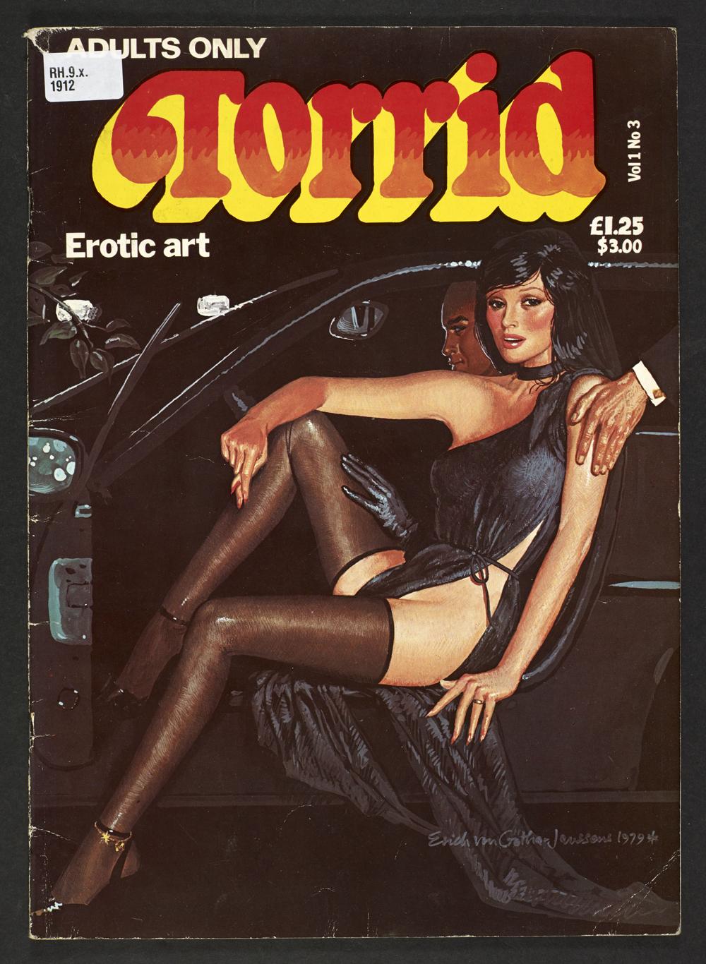 Torrid Erotic Art, 1979, (c) Erich von Gîtha - Robin Ray