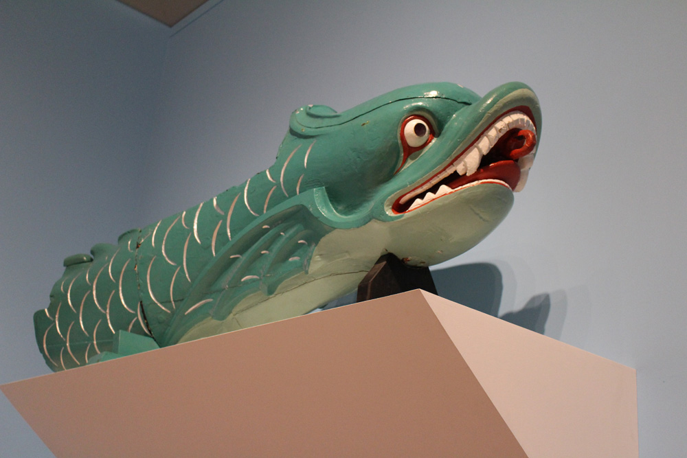 Salamis serpent figurehead