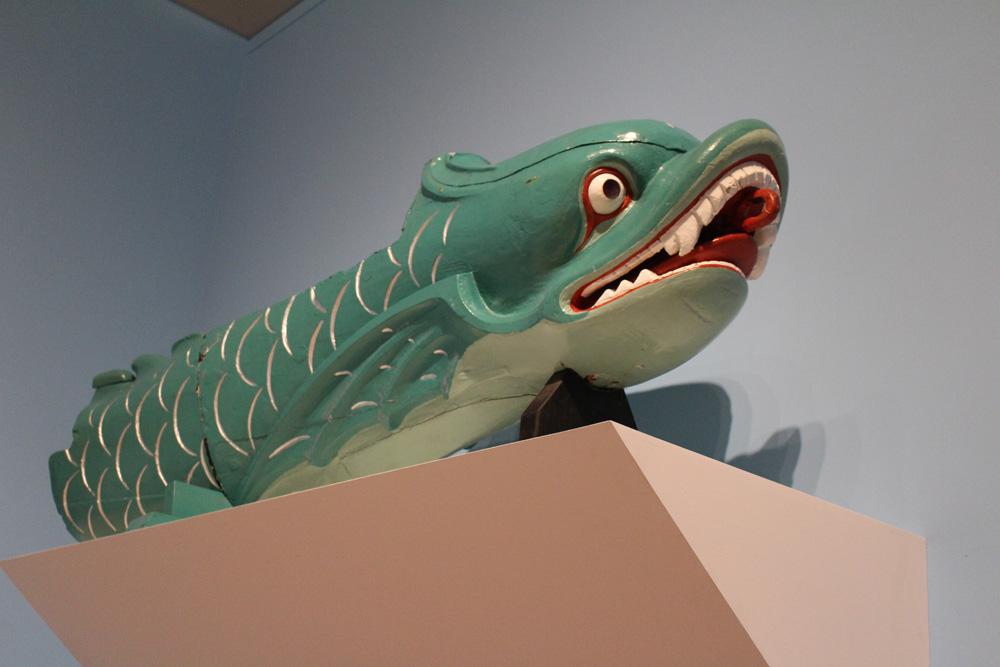 Salamis serpent figurehead