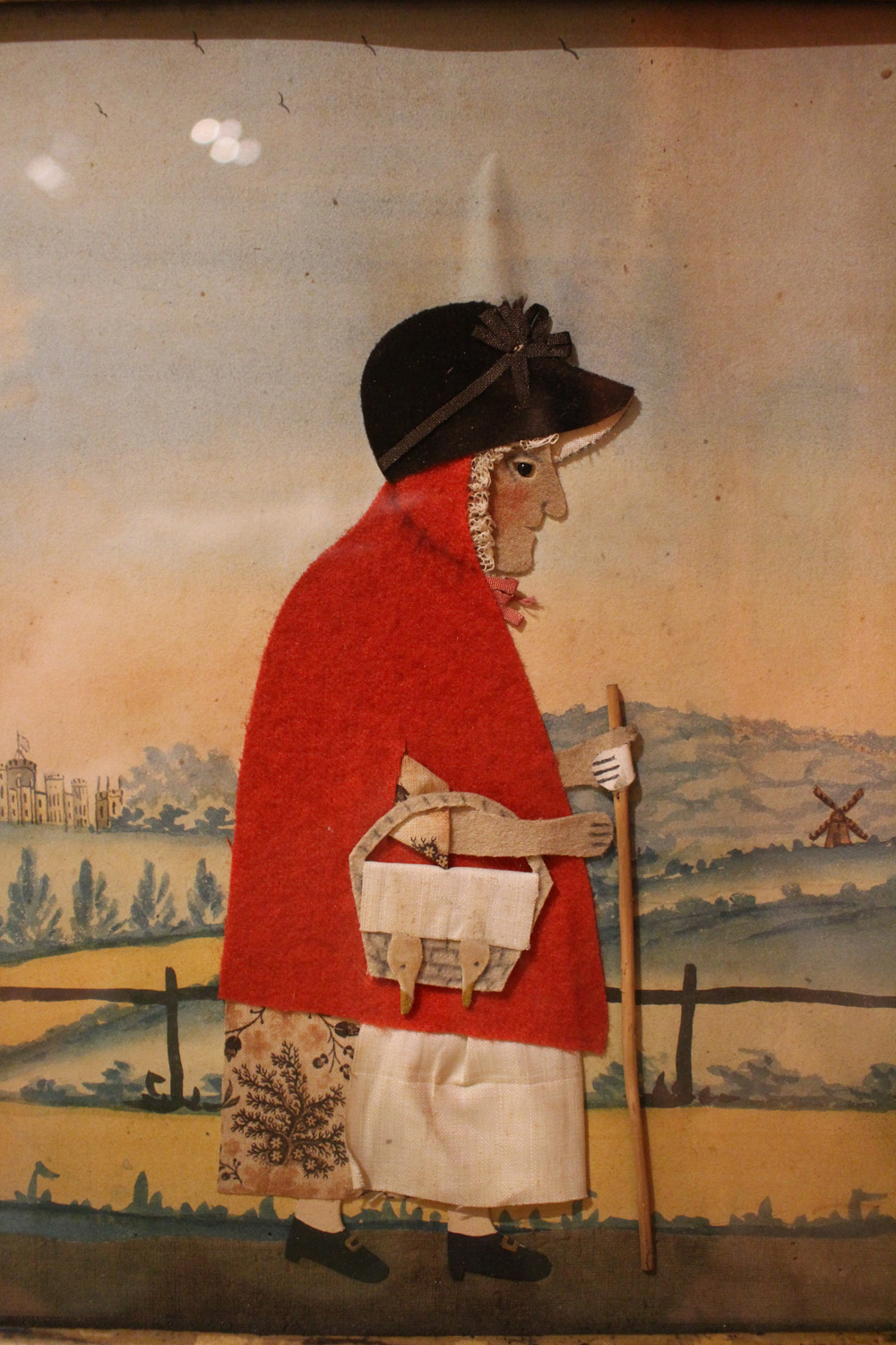 George Smart, Close up of Goosewoman