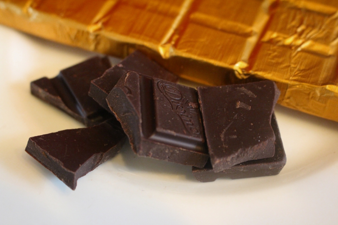 70% Cocoa Solids - I just love this brand chocolate and Fairtrade too!