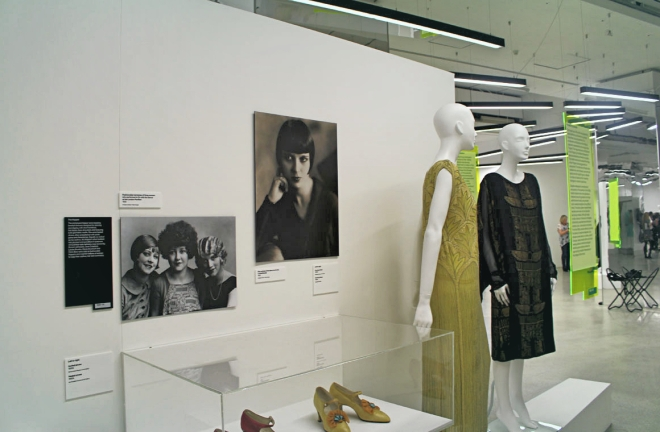 Installation shot of Flapper dresses c1920 at Design Museum.jpg