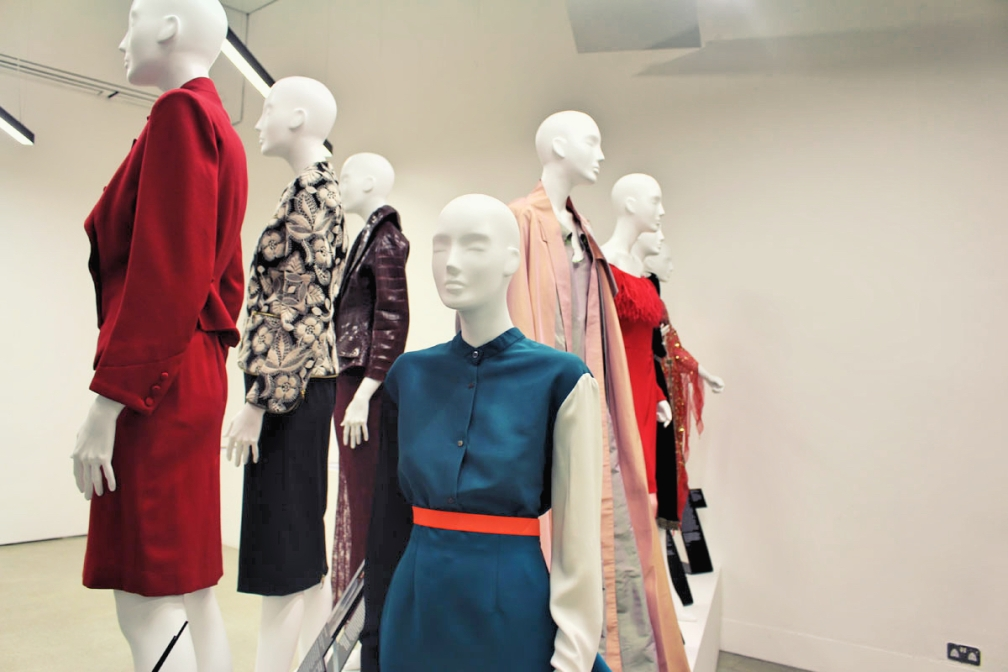 Installation of Women Fashion Power exhibition at Design Musem.jpg