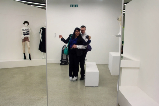 June Sees (June Chanpoomidole) taking a selfie with Robert at Design Museum.jpg