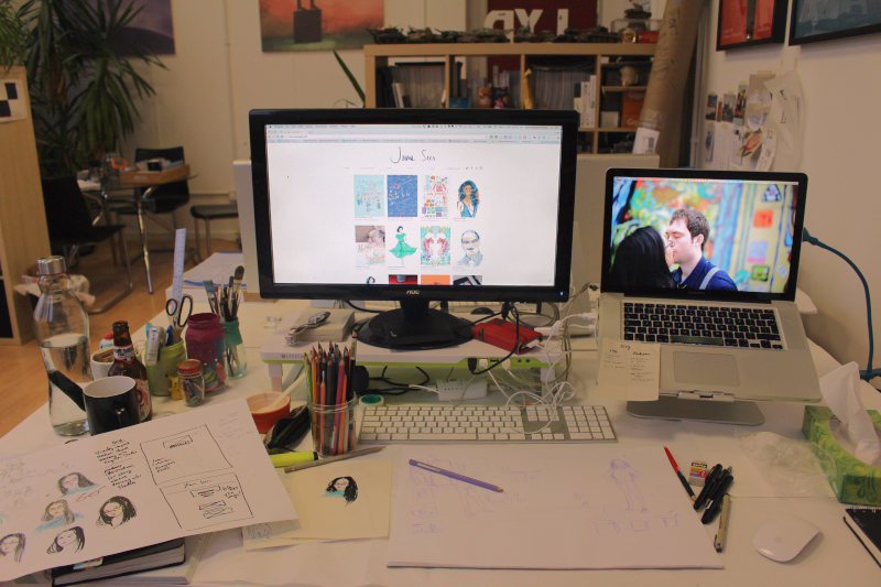 June_Sees_Blog_freelance_illustrator_movinginto_studio_02_Fotor