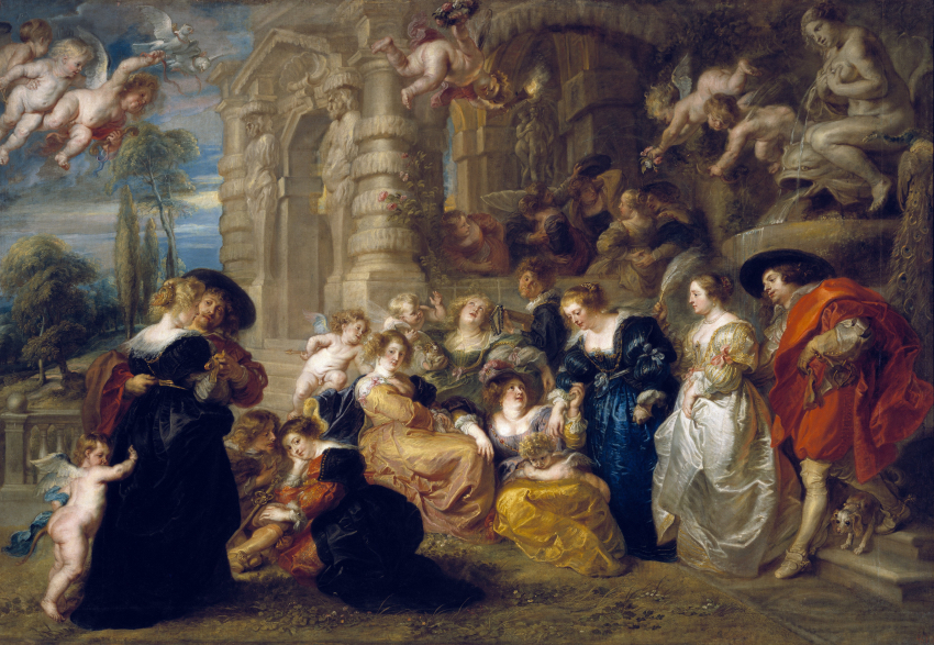 Peter Paul Rubens The Garden of Love, c. 1633 Oil on canvas, 199 x 286 cm