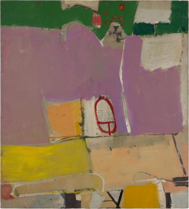 Richard Diebenkorn Albuquerque #4, 1951 Oil on canvas, 128.9 x 116.2 cm Saint Louis Art Museum. Gift of Joseph Pulitzer Jr. Copyright 2014 The Richard Diebenkorn Foundation