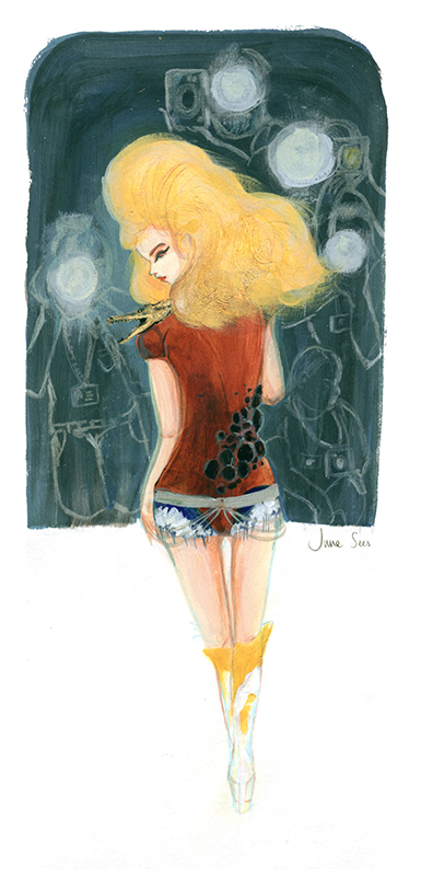 McQueen A/W It's a Jungle Out There 1997, Fashion Illustration