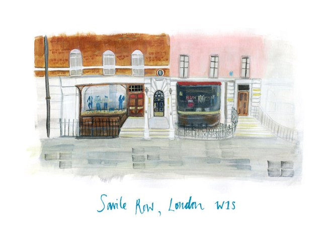 Savile Row, London: Reowned street for the Finest tailored suits