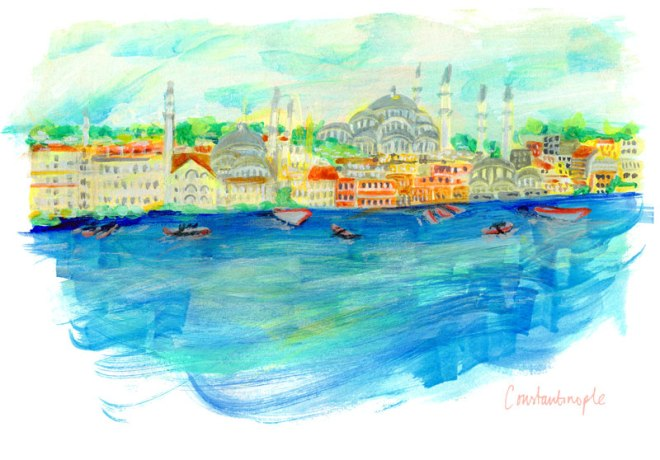 June_Sees_Project_WIP_constantinople_illustration_141115_ No.04